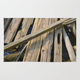 Woodwork Rug