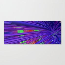 Fiber Fall Canvas Print