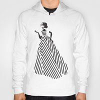 dress Hoodies featuring Dress by Yordanka Poleganova