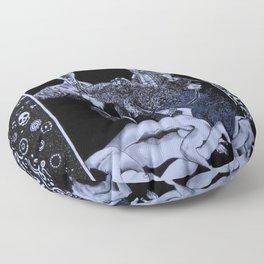 A Werewolf Dream Floor Pillow