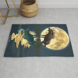 Moose & Moon Rug