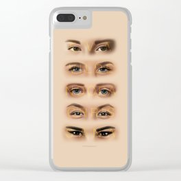 GIRLS SQUAD Clear iPhone Case