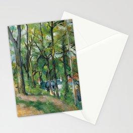 Paul Cézanne - Coast Saint-Denis, at Pontoise - La côte Saint-Denis à Pontoise Stationery Cards