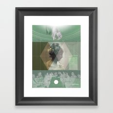 Death of a Cult Framed Art Print