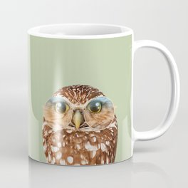 OWL WITH GLASSES Coffee Mug