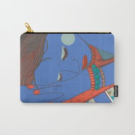 Digital print. Sleeping girl. Painting Woman.Wall Art, Poster, Case Carry-All Pouch