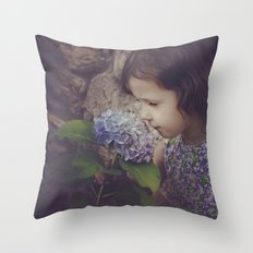 Hurry Up Spring Throw Pillow