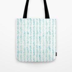 Arrow up aquatica pattern Tote Bag