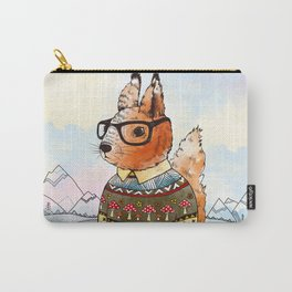 hipsta Squirrel Carry-All Pouch