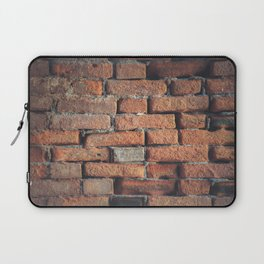 Weathered Red Brick Wall Texture Laptop Sleeve