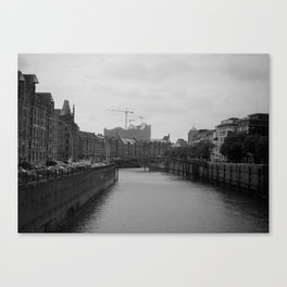 Hamburg Elbphilharmonie Canvas Print
