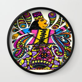 Dancing Sufi Wall Clock
