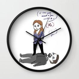 Rani and Master Wall Clock