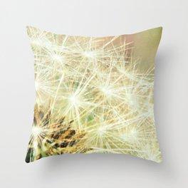 Dandy Macro fine art photography Throw Pillow