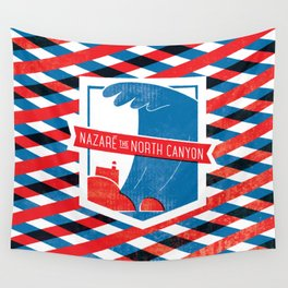 Nazaré - The North Canyon Wall Tapestry