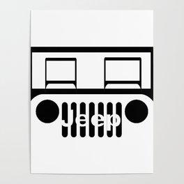 Jeep Logo Poster