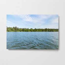 Lake Itasca - Minnesota, USA 8 Metal Print