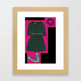 Sweet Date Night Framed Art Print