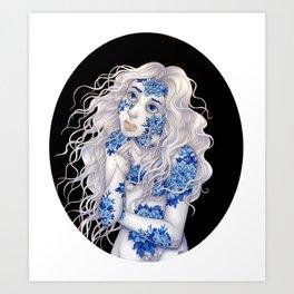 Brittle Bones Art Print