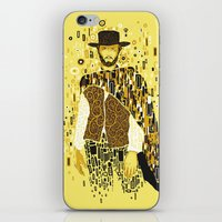 klimt iPhone & iPod Skins featuring Klimt Eastwood by Frederick Hoffman