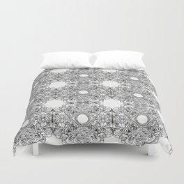 yup shapes pattern Duvet Cover