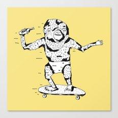 Skate Monkey Canvas Print