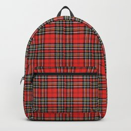 Vintage Plaid Lunchbox Backpack
