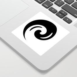 Yin Yang Exagerated Sticker