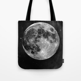 La Lune, Moon Tote Bag