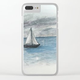 Beyond the Horizon Clear iPhone Case