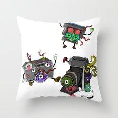 Snapshot (ANALOG zine) Throw Pillow