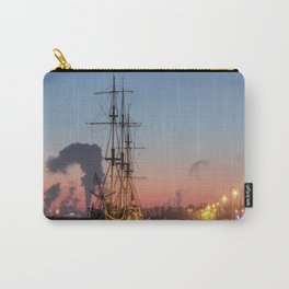 Frigate Grace - the restaurant in winter. Carry-All Pouch