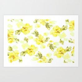 Mini Flowers Art Print