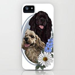Gus & Pepper iPhone Case