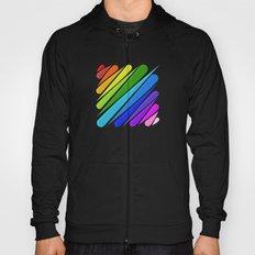 Rain Storm Rainbow Hoody