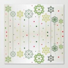 Holidays Deco Canvas Print