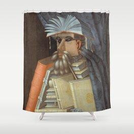 Giuseppe Arcimboldo - The Librarian Shower Curtain