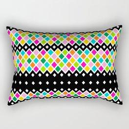 DIAMOND - Black Rectangular Pillow
