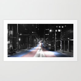 Out of the Shadows Art Print