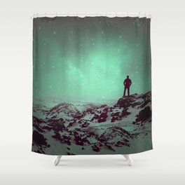 Lost the Moon While Counting Stars II Shower Curtain