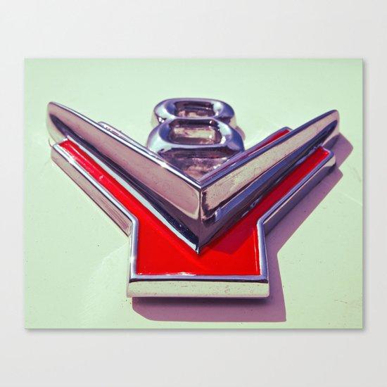 V8 Canvas Print
