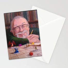 Gary Gygax: the Dungeon Master Stationery Cards