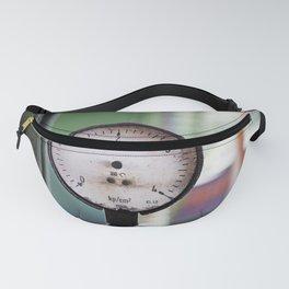 Broken pressure gauge Fanny Pack