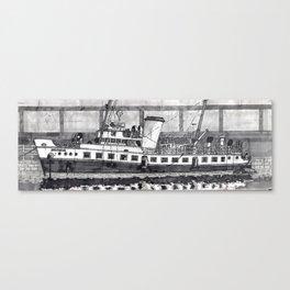 MV Balmoral on the Bristol Floating Harbour Canvas Print