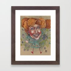 FRIZZ Framed Art Print