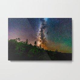 Northern Michigan Milky Way Metal Print
