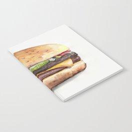 Color pencil Hamburger Notebook