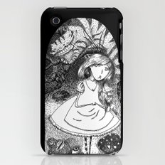 Alice in Creeperland Slim Case iPhone (3g, 3gs)