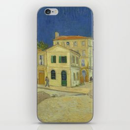 The Yellow House by Vincent van Gogh iPhone Skin