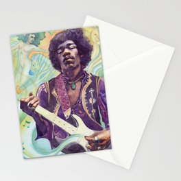 Little Wing, Rock Guitarist Stationery Cards